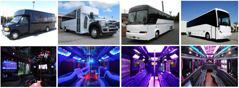 Party bus Fort Bragg