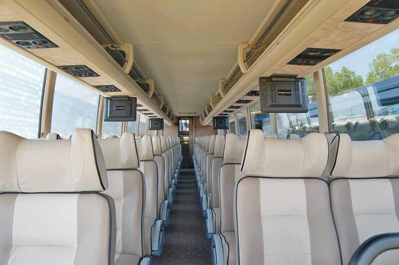 charter buses greensboro